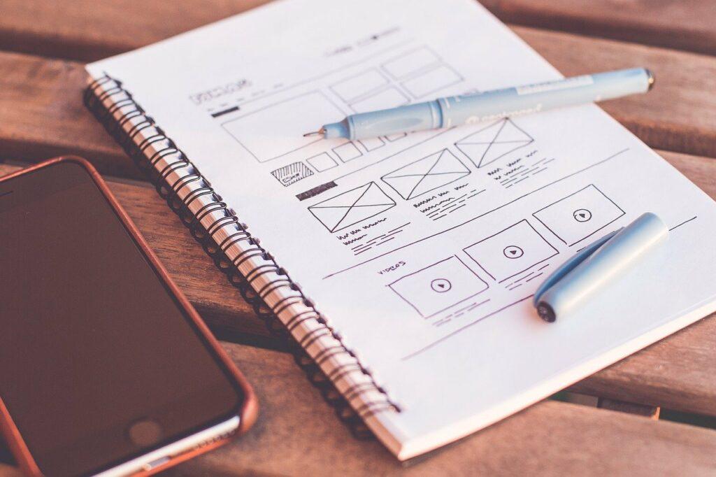plans, design, web design