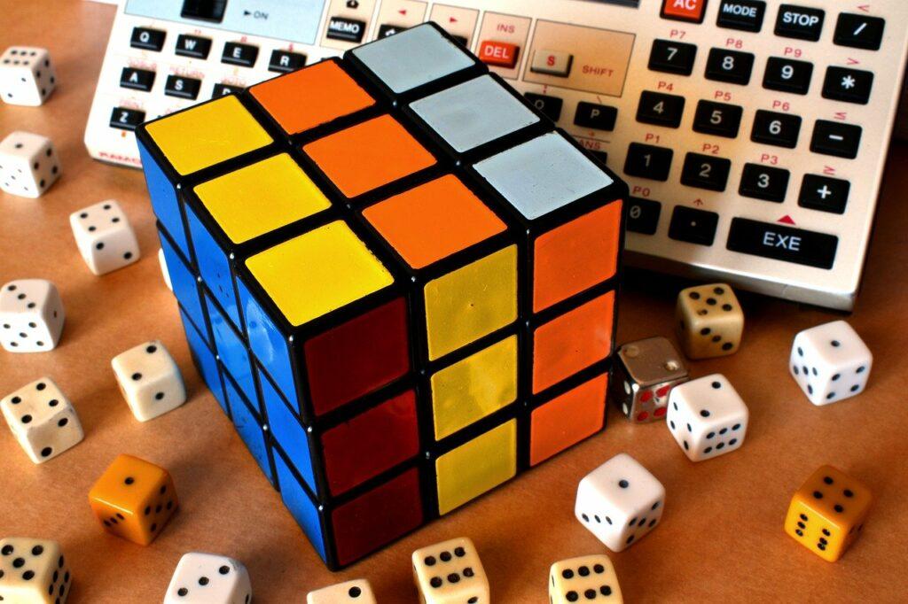 rubik's cube, cube, rubik